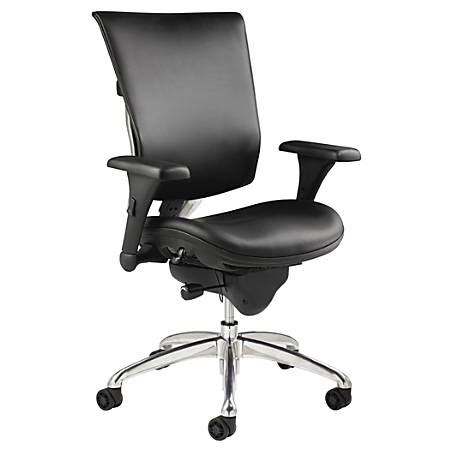 workpro chairs workpro 768e commercial leather high back chair black