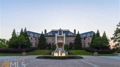 French Country Ranch House tyler perry s atlanta mansion hits market with 25 million