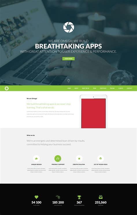 wordpress themes free single page wordpress and web design freebie no 6
