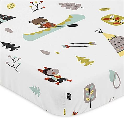 Sweet Jojo Designs Outdoor Adventure Mini Crib Sheet Bed Mini Crib Sheet Size