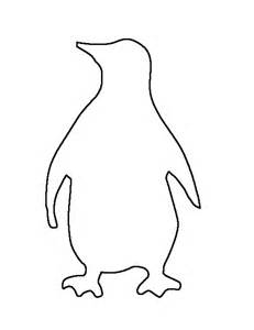 printable penguin template best photos of penguin outline template penguin outline