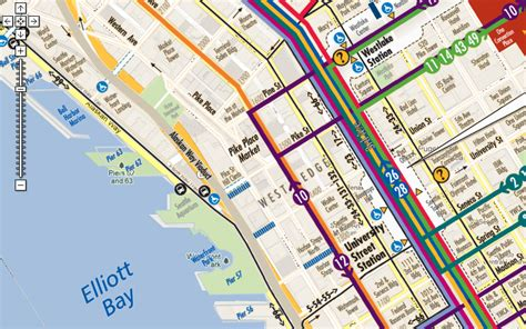 seattle map transportation custom map tiling display your maps on maps