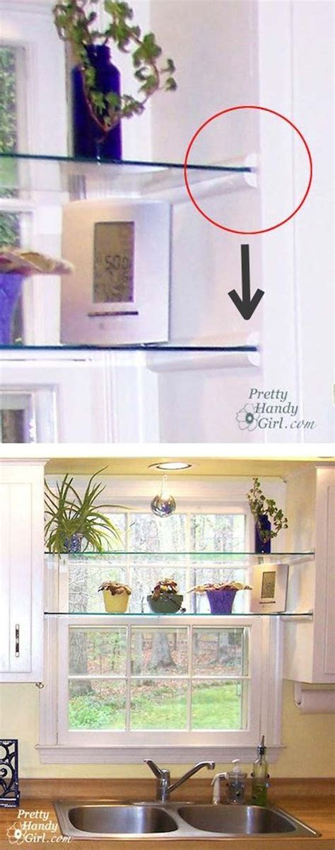 kitchen window shelf ideas interesting and practical shelving ideas for your kitchen