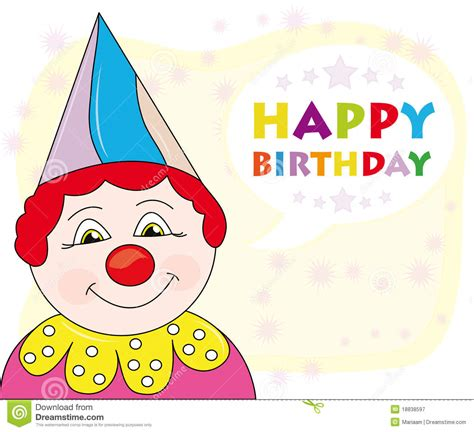 Happy Birthday Greeting Cards For Happy Birthday Greeting Card Royalty Free Stock