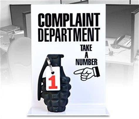 Complaint Department by 35 Things They Should Done A Better At Teaching