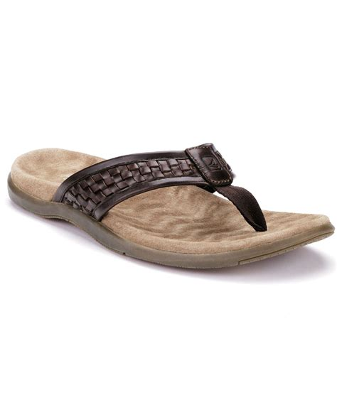 sperry s sandals sperry top sider s largo sandals in brown for