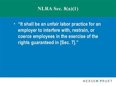 Nlra Section 7 Rights by Employee Complaints On And Social Media Policies