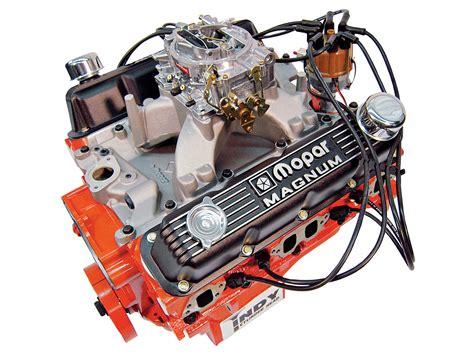 mopar 340 crate motor mopar complete crate engines guide small block rod