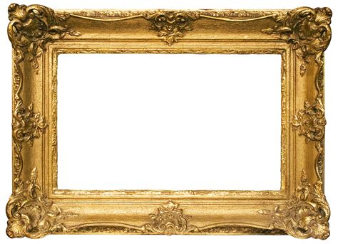 Ikea Rectangle Vase Gold Frame Png Transparent Images Png All