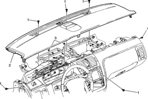 Service Manual How To Remove Dash On A 2006 Cadillac Sts
