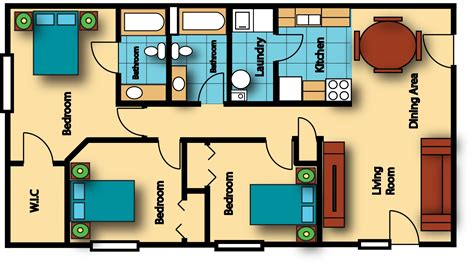 800 square feet 800 sq ft apartment floor plan ahscgs com