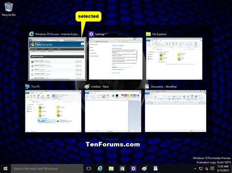 switch between open apps in windows 10 windows 10 tutorials