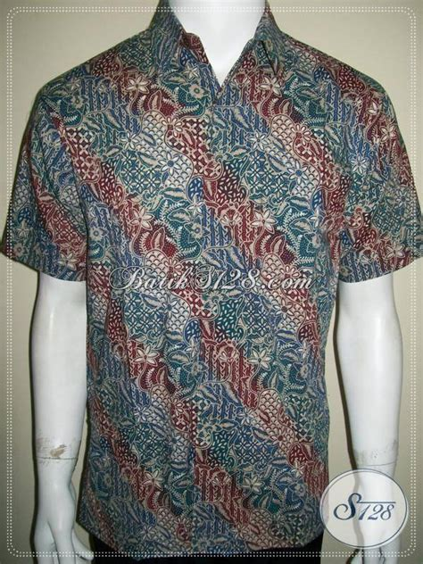 Koleksi Kemeja Terbaru Kemeja Pendek Navy Best Seller toko batik terpercaya hadir dengan koleksi terbaru kemeja batik pria lengen pendek motif