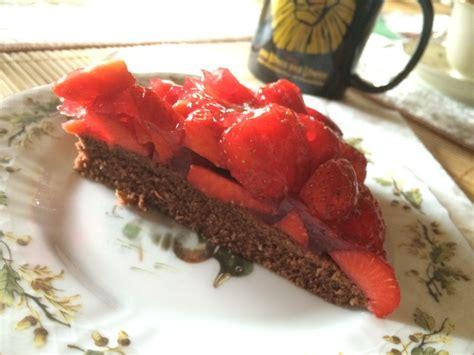 erdbeer schoko kuchen schoko erdbeer kuchen rezept mit bild