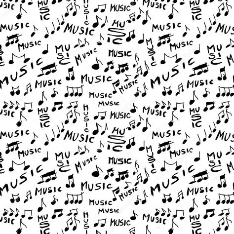 music pattern tumblr music word and musical notes seamless texture and pattern