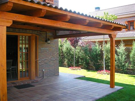 porches jardin porche de madera para jard 237 n existe muchas posibilidades