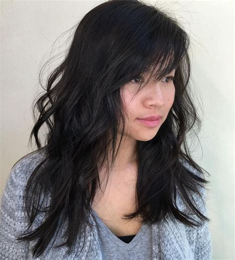 best way to part side swept bangs for oval faces 17 best ideas about side swept bangs on pinterest side