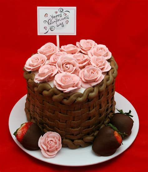 Edible Garden Cake Decorations Valentines Day Cake Pictures Slideshow
