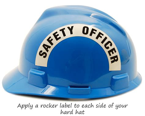Safety Hat Stickers