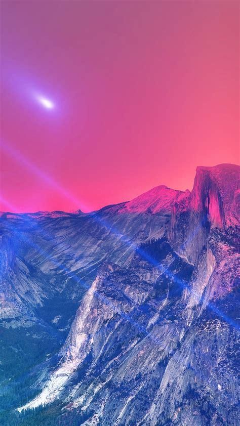 yosemite wallpaper hd iphone 6 mm29 yosemite mountain art blue flare sky nature