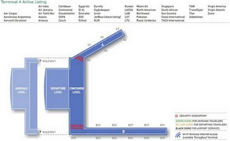 jfk terminal 4 map airport terminal map jfk airport terminal 4 jpg