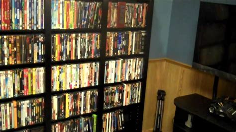 new dvd shelf collection