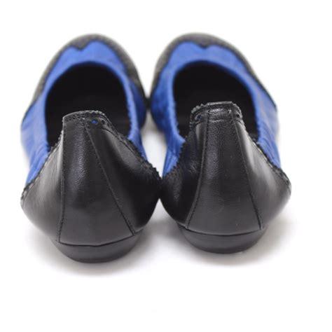 hermes flat shoes authentic hermes flat shoes leather black blue ebay
