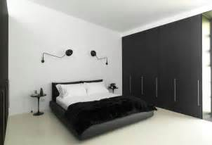 Modern Chandelier 35 Timeless Black And White Bedrooms That Know How To