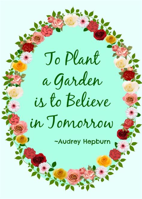 Garden Quotes Hepburn Gardening Quotes Inspirational Image Quotes At Relatably