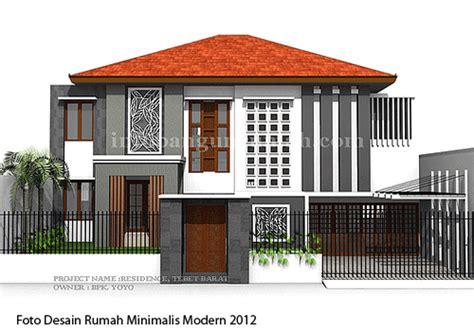 foto desain rumah minimalis modern 2012