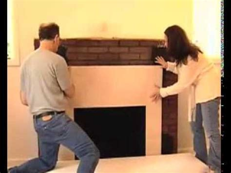 How to Install a Surround Facing Kit in Fireplace Mantels