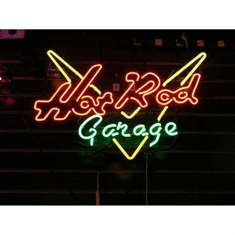 Neon Garage Signs by Rod Garage Neon Sign 115414 Wall At Sportsman S