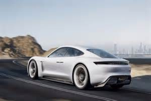 Future Luxury Electric Cars Porsche Introduced New Electric Sports Car Concept