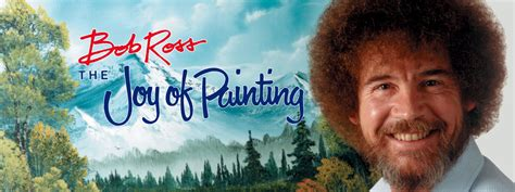 bob ross of painting troline design ideas that move