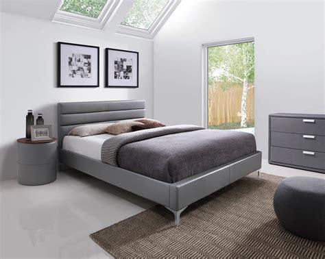 Le Chevet Design Contemporain by Chevet Contemporain Rond En Pu Gris Emerick Chevet