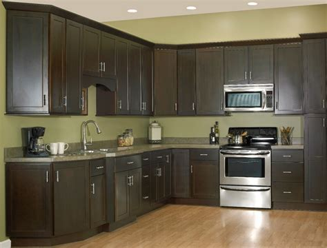 andover espresso collection kitchen cabinets solid wood soft close drawers ebay