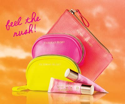 Victoria Secret Giveaway Bag 2014 - free victoria s secret mini bag with 5 for 25 beauty rush purchase thrifty momma