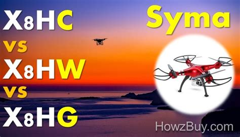 Drone Syma X8hw Vs X8hg syma x8hc vs x8hw vs x8hg quadrocopter drone review
