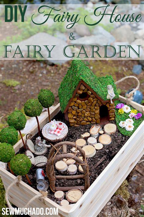 craft house and garden diy garden and house tutorial sew much ado