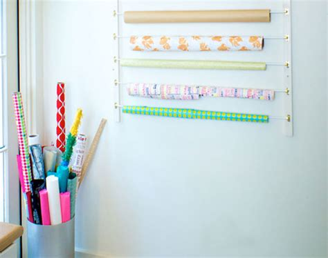 Paper Crafting Supplies - organize your paper craft supplies on the wall brit co