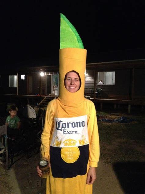homemade corona costume costumes corona bottle
