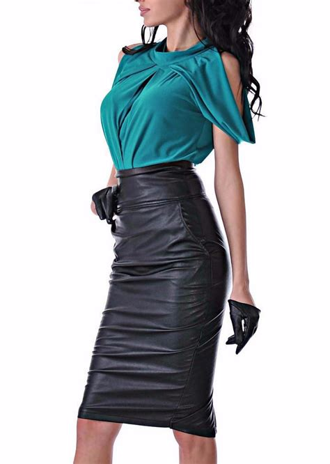 B Uniko Skirt Mr leather skirt inspired by quot mr and mrs smith quot partytask
