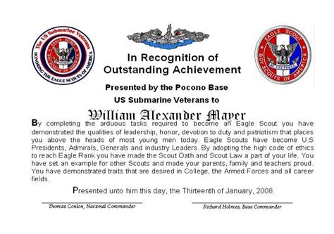 eagle scout award certificate template pictures to pin on
