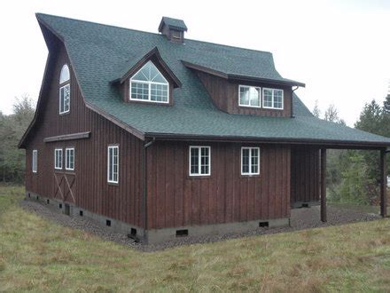 Hunting Cabin Floor Plans Free by Ranch Styles Pole Barn Home Home Barn Style House Plans