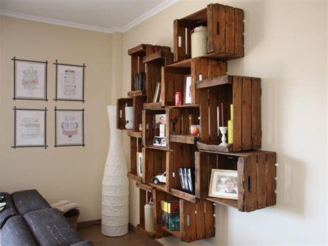 muebles tu muebles con huacales para organizar y renovar tus espacios