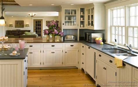 country kitchen with white cabinets finding the ideal cottage kitchen cabinets my kitchen