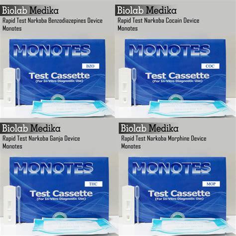 Alat Tes Urine 6p Monotes Harga Tes Urine Narkoba Monotes Biolab Medika