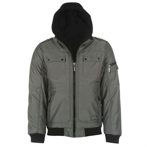 jacket design with hood no fear mens two zip hooded jacket double zip design