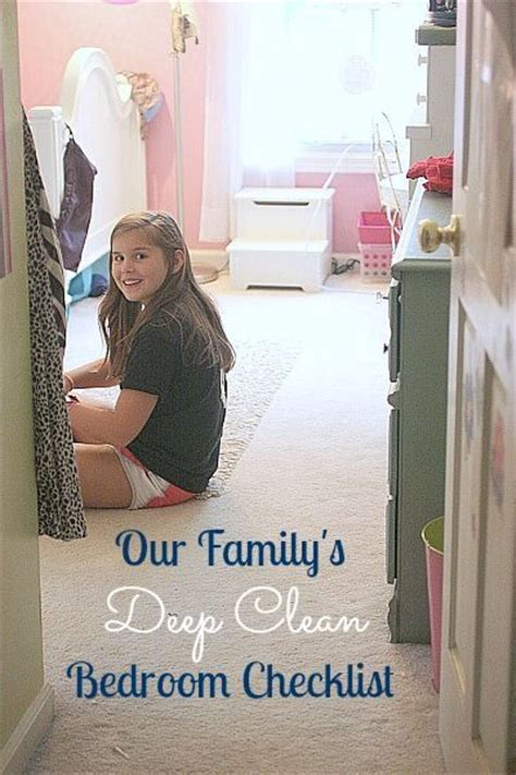how to deep clean bedroom kids deep cleaning bedroom checklist fun for kids