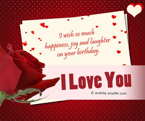 I Wish Him A Happy Birthday Birthday Wishes For Boyfriend Festival Around The World